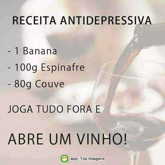 Receita antidepressiva