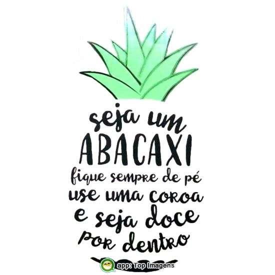 Seja um abacaxi