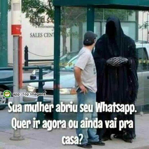Whatsapp do marido