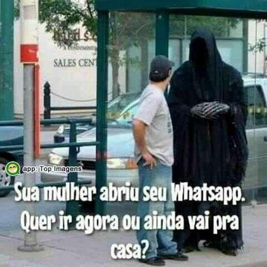 Whatsapp do marido