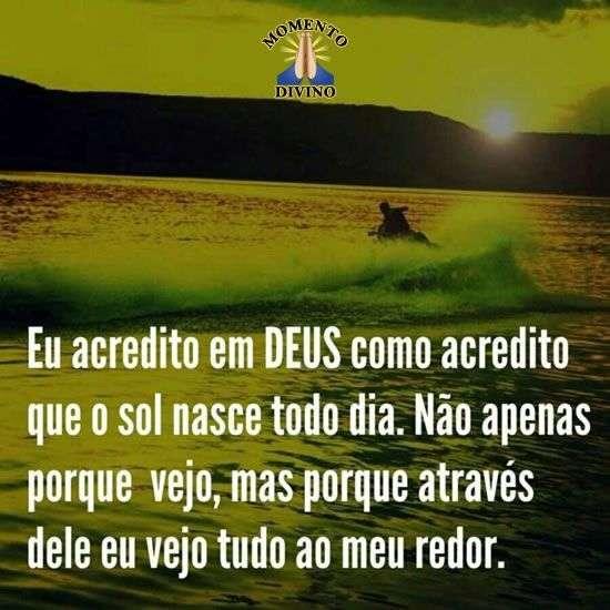 Eu acredito em Deus