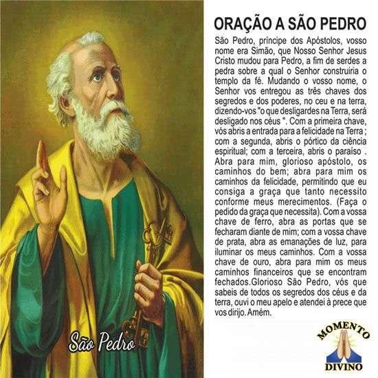 Oração à São Pedro