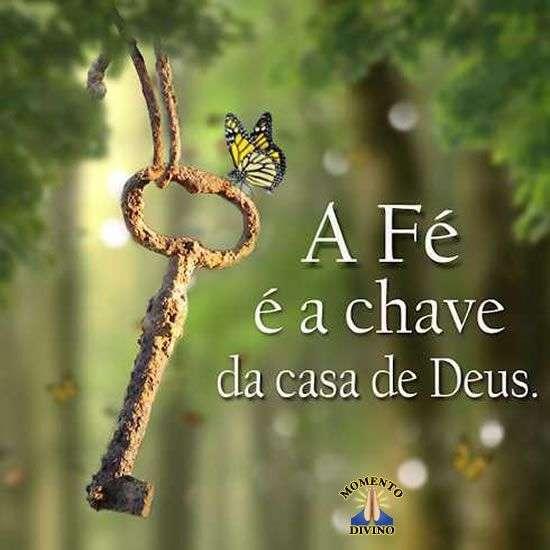 A fé é a chave