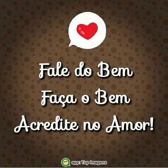 Acredite no amor