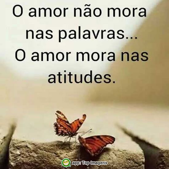 Amor e atitude