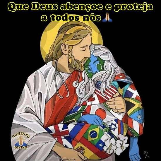 Deus abençoe e proteja