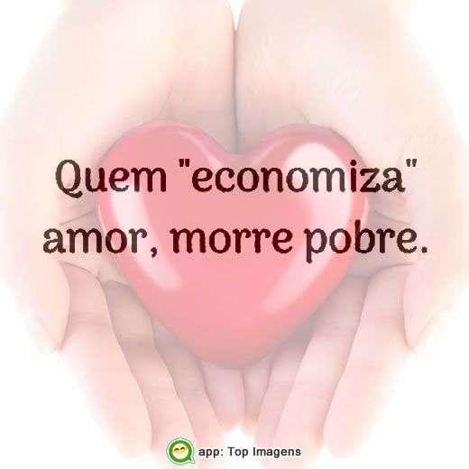 Economizar amor