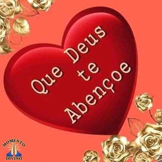 Que Deus te abençoe
