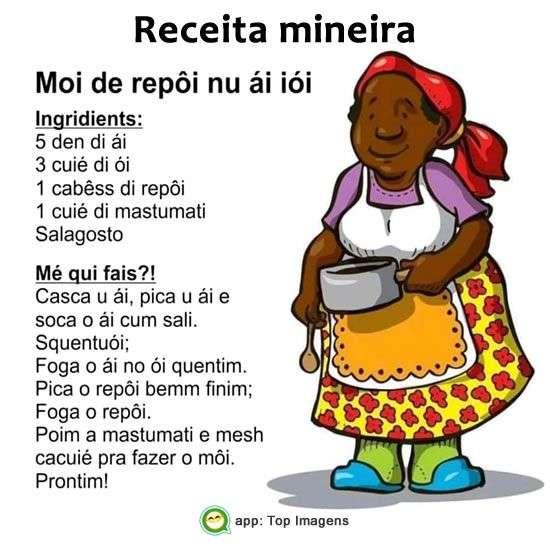 Receita mineira