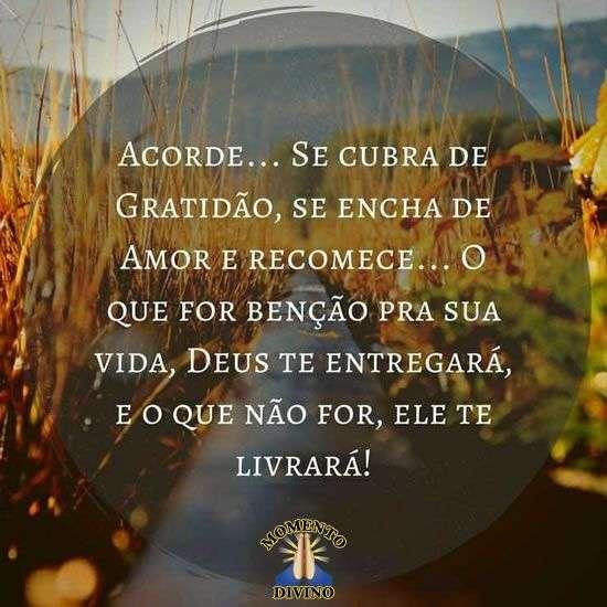 Se cubra de gratidão