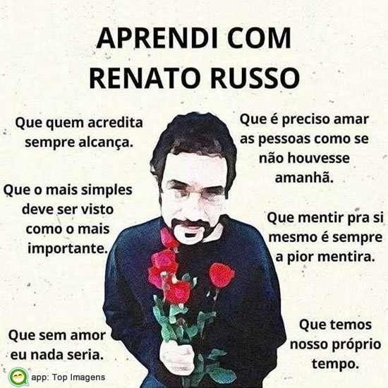 Aprendi com Renato Russo
