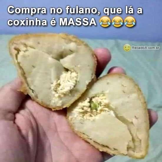 Coxinha massa