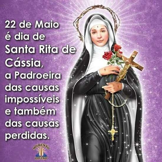 Dia de Santa Rita de Cássia
