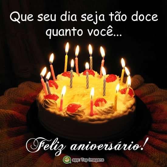 Feliz aniversário doce