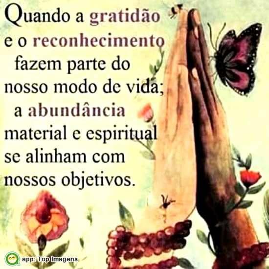Gratidão e Reconhecimento