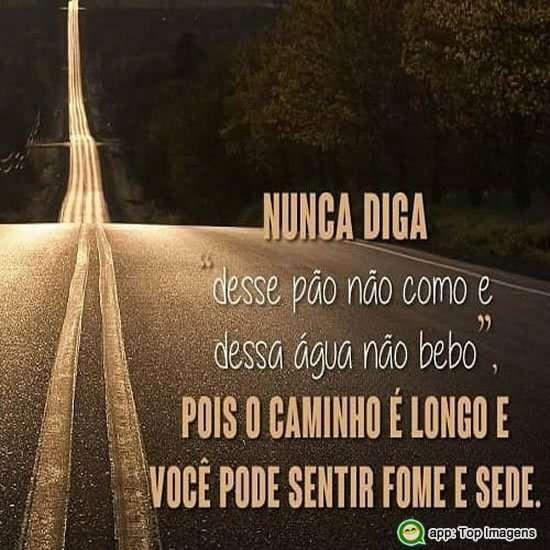 O caminho é longo