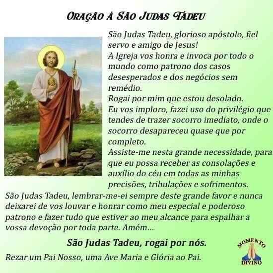 Oração à São Judas Tadeu