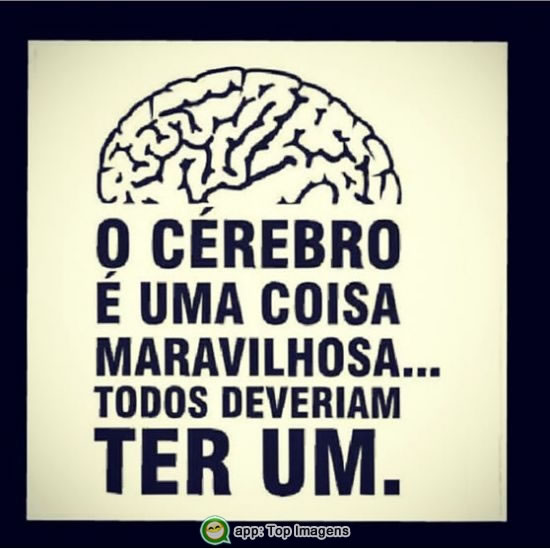 O cérebro é uma coisa maravilhosa