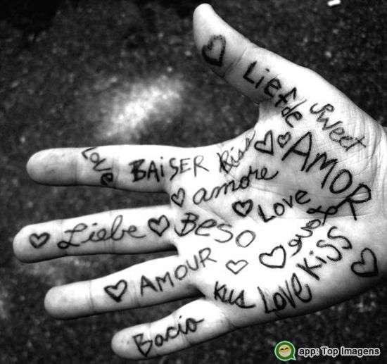 Como dizer te amo
