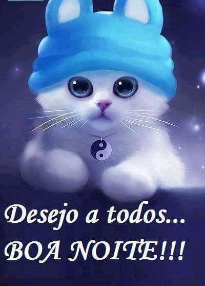Desejo a todos boa noite